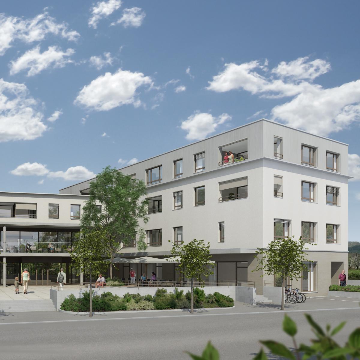 Hier entsteht der neue Kita Standort in Felben-Wellhausen